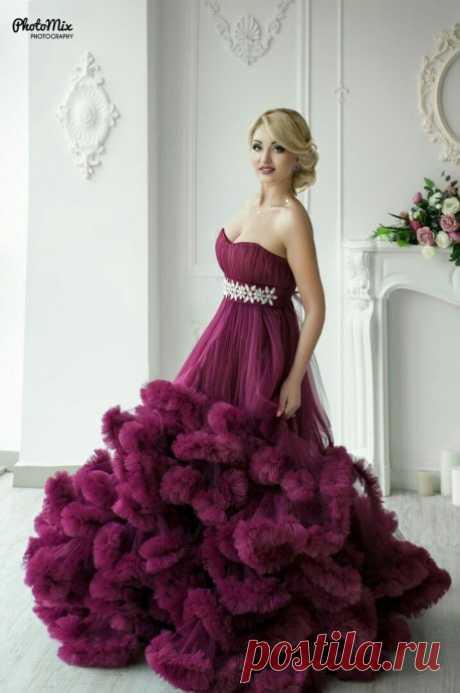 Мастер-класс по пошиву платья-облака