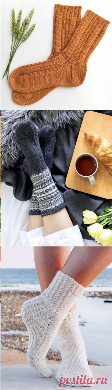 Носки спицами | Вязаные истории | Яндекс Дзен