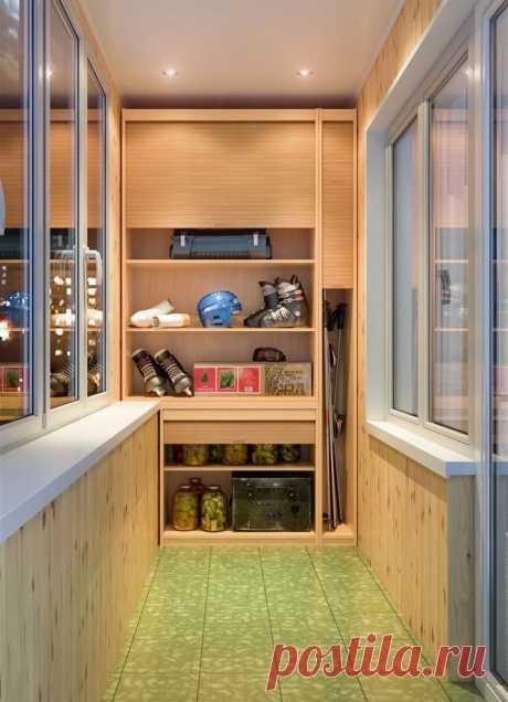 Шкаф на балкон и лоджию: 50+ фото, идеи для хранения, дизайн