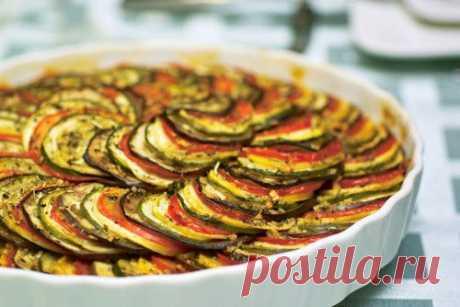 Французские блюда: как приготовить рататуй / Простые рецепты