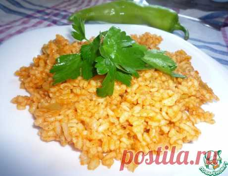 Булгур по-турецки – кулинарный рецепт