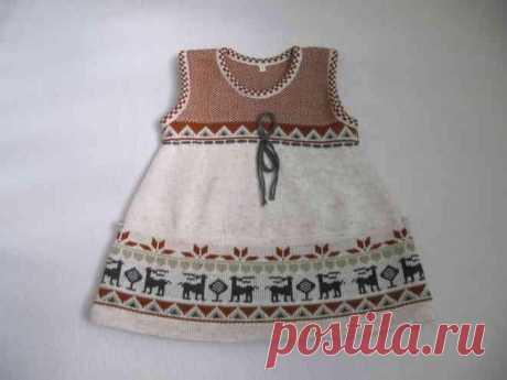 Модные детские сарафаны