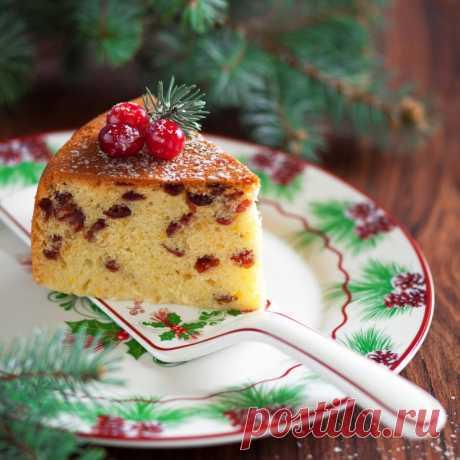 Рождественский кекс с клюквой в мультиварке - Рецепты. Кулинарные рецепты блюд с фото - рецепты салатов, первые и вторые блюда, рецепты выпечки, десерты и закуски - IVONA - bigmir)net - IVONA bigmir)net