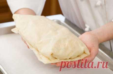 Тесто для штруделя: пошаговые рецепты, простые и быстрые от Марины Выходцевой