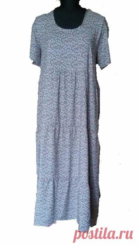 Платье Бохо из штапеля. Такого чудесного платья у меня ещё не было. Выкройка. Размер 50-52   Вертолет на пенсии   Яндекс Дзен