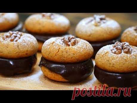 Бесподобное Ореховое печенье к чаю! Быстро и ооочень вкусно | Кулинарим с Таней