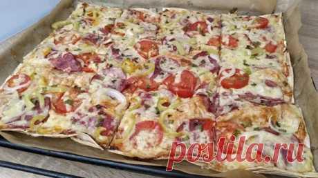 Часто пеку детям пиццу на лаваше: они от нее в восторге - Вкусняшка - медиаплатформа МирТесен