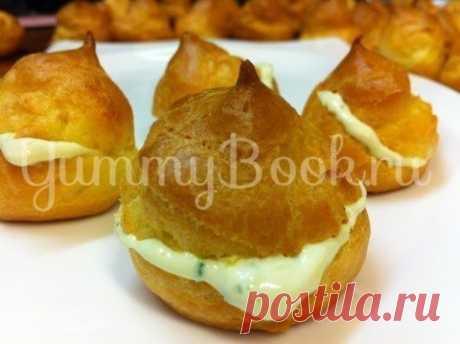 Эклеры из плавленного сыра - простой и вкусный рецепт с пошаговыми фото