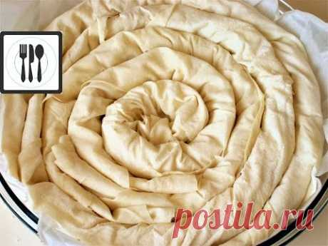 Турецкий бёрек рецепт / Пирог с брынзой / Берек по-турецки - Peynirli borek