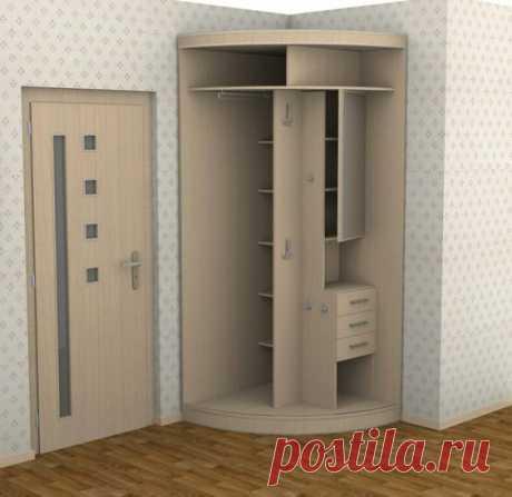 Идеи рационального размещения шкафов / Домоседы