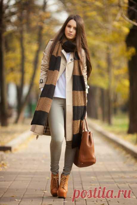 Шарф должен быть у каждой модницы: 8 самых стильных способов носить шарф осенью 2018   МОДНЫЙ ГАРДЕРОБ   Яндекс Дзен