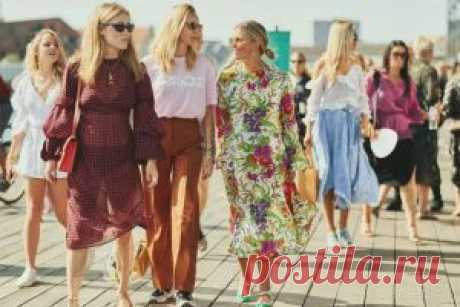 Уличная мода (Street Style)  модные тенденции на лето 2019