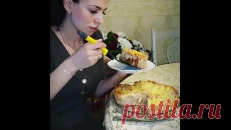 Очень необычный пирог... и очень простой, быстро готовится, когда гости на пороге!