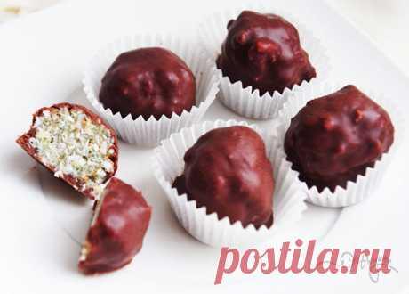 Мятно-шоколадные пирожные