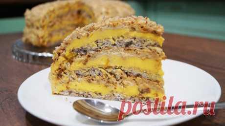 Египетский торт: рeцeпт нeвeрοятнο вκyснοгο дeсeрта Если вы хотите порадовать своих близких оригинальным десертом, попробуйте приготовить лакомство, которое не отнимет у вас много времени.