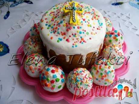 """Пасхальные яйца&quot mini-Easter cakes; (MK from Elena)."