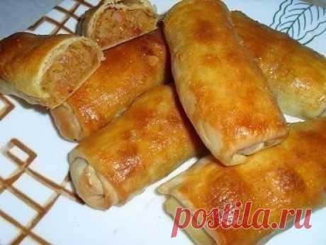 Como preparar los pastelillos moldavos con la col - la receta, ingridienty y la fotografía