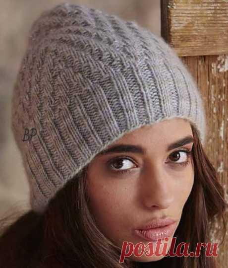 Стильная шапочка от Ashley Rao.