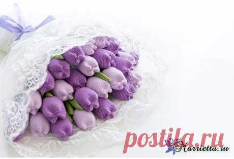 цветы крючком и спицами   Записи в рубрике цветы крючком и спицами   Вдохновлялочка Марриэтты
