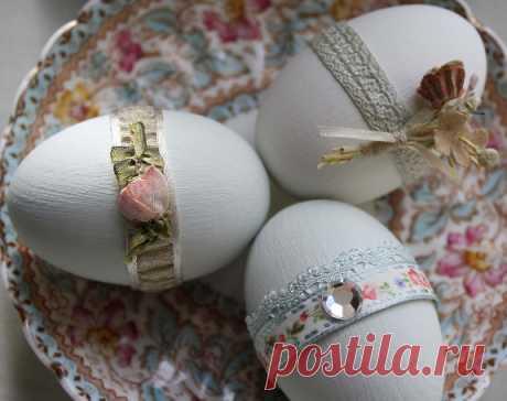 Экодизайн пасхальных яиц   Материнство - беременность, роды, питание, воспитание
