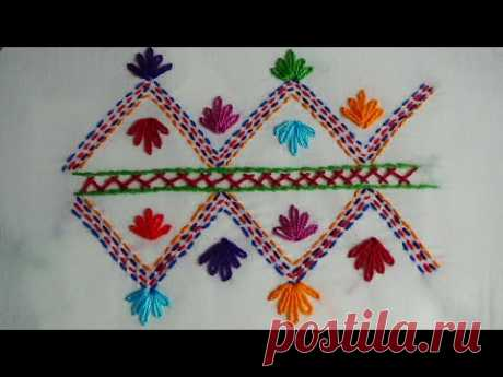 Hand Embroidery: Nakshi Kantha Embroidery