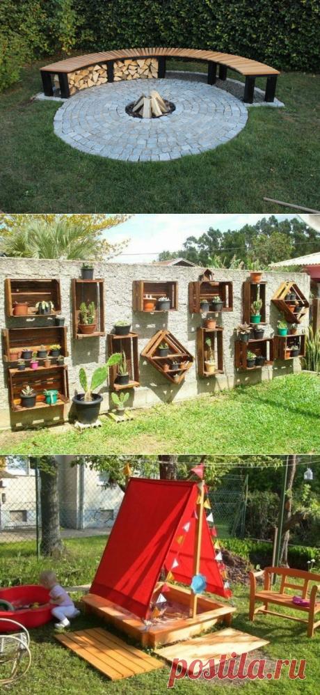 20 идей, которые помогут сделать вашу дачу ещё уютнее — Дом и Сад