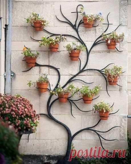 Идеи подставок для цветов для дома и дачи / Я - суперпупер