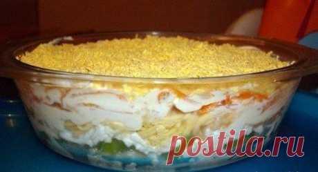 Оригинальный и неизбитый салат.