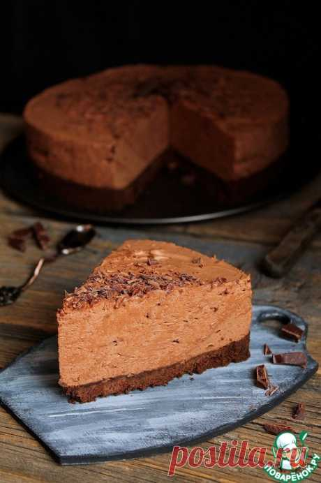 Шоколадный торт-мусс без выпечки – кулинарный рецепт