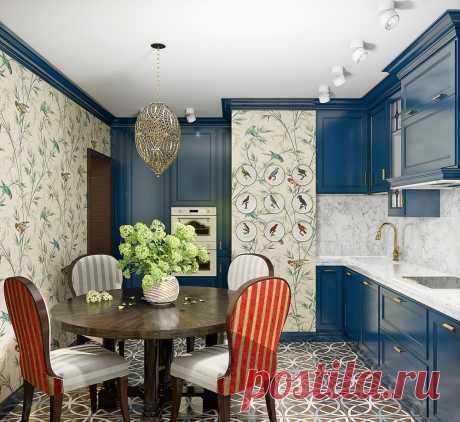 El diseño de la cocina: 12 variantes de la formalización en los estilos diferentes