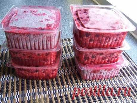 Вишня замороженная без косточек - сайт кулинарии