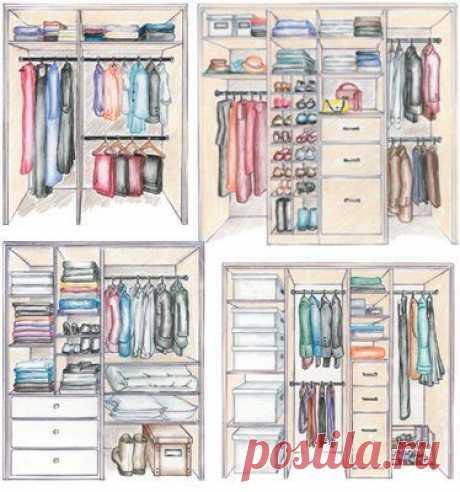 Как спланировать и нарисовать шкаф мечты: полезные советы | Свежие идеи дизайна интерьеров, декора, архитектуры на InMyRoom.ru