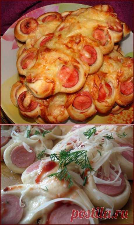 Булочки Гусенички кулинарный рецепт с фото от Paragrams