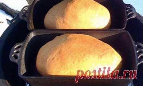 Поставили старую чугунную сковороду на мангал: жарим мясо, закуски и собственный хлеб | Люблю Себя