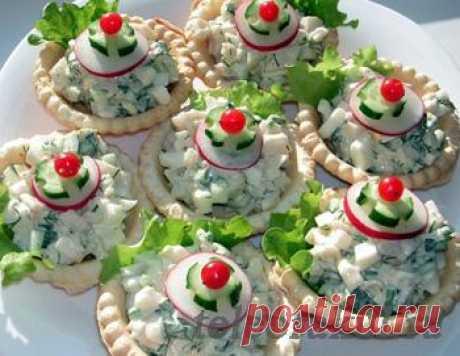 Тарталетки с начинкой - рецепты с фото