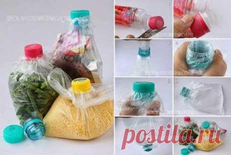 17 poleznost from plastic bottles