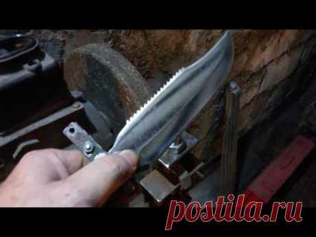Самое простое приспособление для заточки ножей под 30 гр.