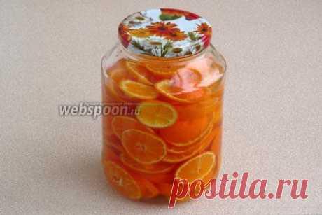 Ликёр мандариновый рецепт с фото, как приготовить на Webspoon.ru
