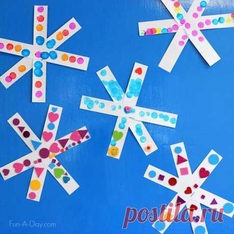 Снежинки своими руками: как сделать поделку снежинки на Новый год