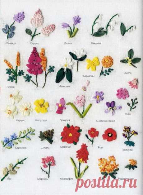 Rococo embroidery