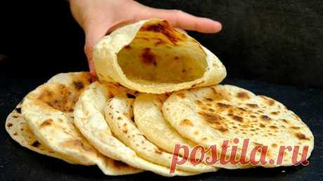 Пита - лепешки-кармашки для любой начинки – пошаговый рецепт с фотографиями