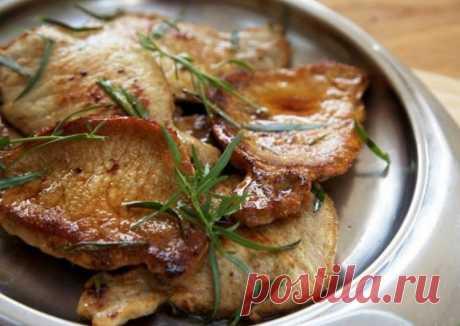 Эскалоп из свинины на сковороде - пошаговый рецепт с фото. Автор рецепта Александр 🏖 директор Cookpad в кулинарном отпуске . - Cookpad