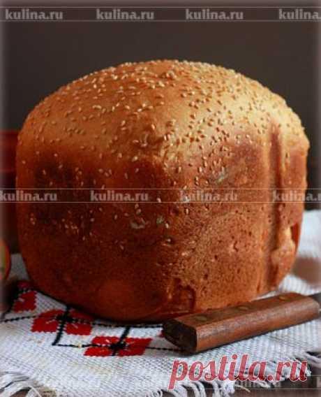 Горчичный хлеб с кунжутом – рецепт приготовления с фото от Kulina.Ru
