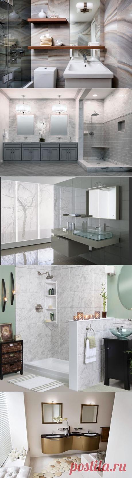Дизайнерские тренды для ванной комнаты — Роскошь и уют