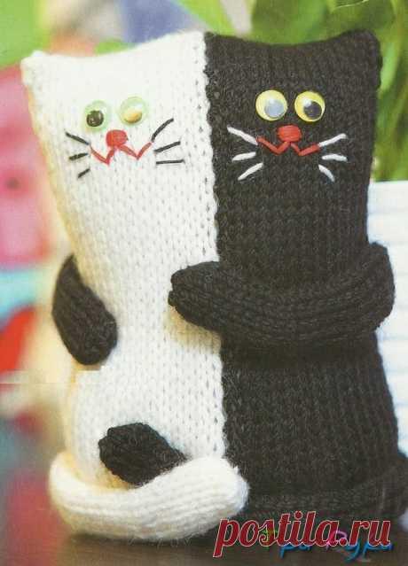 Влюбленная Парочка котов — Три Руки — мир эксклюзивных вещей
