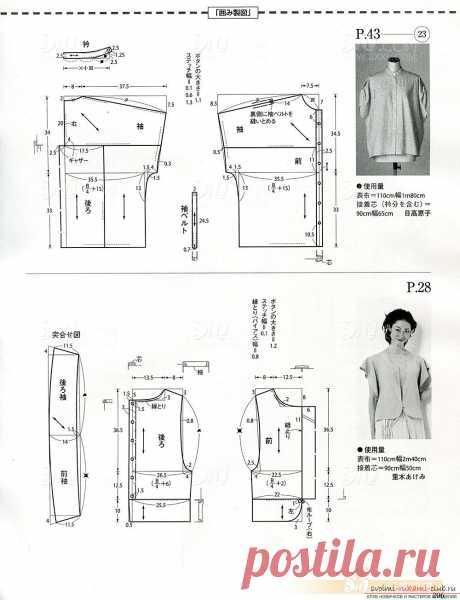 Patrones de fotos de varios modelos de ropa femenina de moda