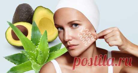 Домашние средства для подтягивания кожи - Счастливые заметки