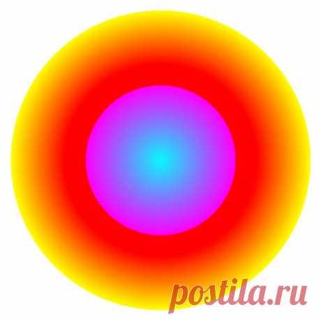 Рождение Земли Иллюзии движения Смотрите в центр и через некоторое время вы увидите, что внешняя окружность сужается, а внутренняя - расширяется.