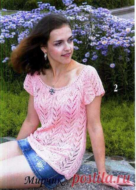 Летние пуловеры, кофточки, топы - oksanatych-rosa - 826 фото.