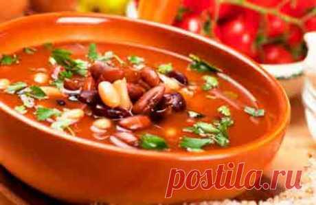 Как приготовить суп из фасоли - Кулинарная книга